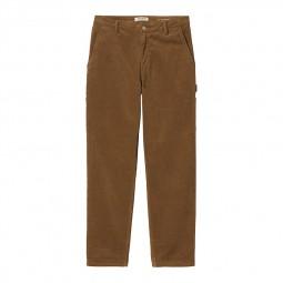 Pantalon velours femme Carhartt W' Pierce Pant marron