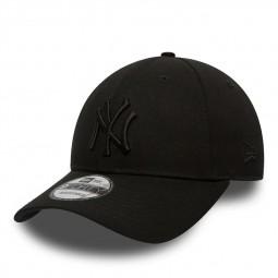 Casquette New Era 9Forty noire logo noir