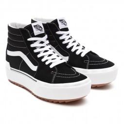 Chaussures Vans Sk8-Hi Stacked noires