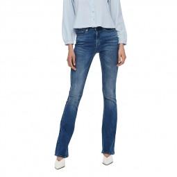 Jeans Only Paola taille haute bleu délavé