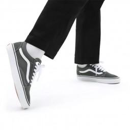 Chaussures Vans Old Skool daim kaki
