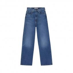 Jean's Levi's® taille haute loose bleu stone