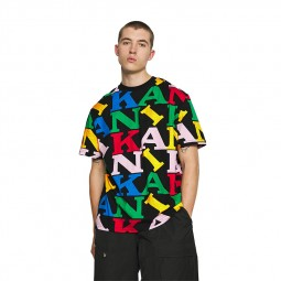 T-shirt rétro Karl Kani Logo Tee multicolore