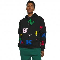 Sweat à capuche Karl Kani Retro Logo multicolore