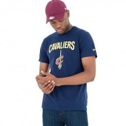 T-shirt New Era Cavaliers Cleveland bleu marine