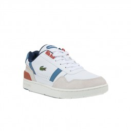 Chaussure Lacoste T-Clip blanches