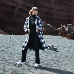Pantalon maille Grace & Mila Dafina noir