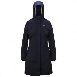 Manteau femme KWAY Stephy Bonded bleu marine