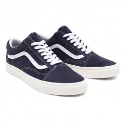 Chaussures Vans Old Skool (Pig Suede) bleu marine