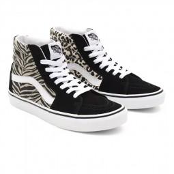 Chaussures Vans Sk8-Hi Safari noir beige