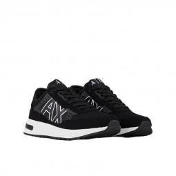 Chaussures Armani Exchange Sneakers noir XUX090