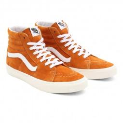 Chaussures Vans Sk8-Hi oranges