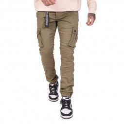 Pantalon cargo slim Project X Paris kaki