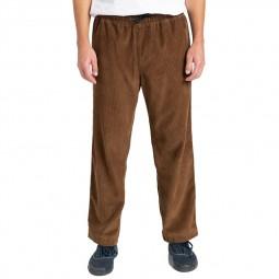 Pantalon velours côtelé Element Chillin marron
