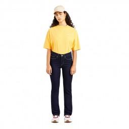 Jean's Levi's® 314™ Shaping Straight Jeans bleu foncé