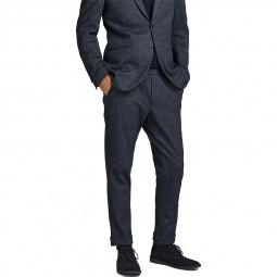 Pantalon Jack & Jones Boston Trousers bleu marine chiné