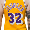Magic Johnson Lakers Los Angeles 32
