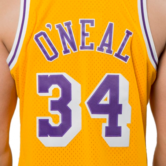Shaquille O'Neal Lakers Los Angeles 34
