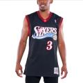 Allen Iverson 76ers Philadelphie 3