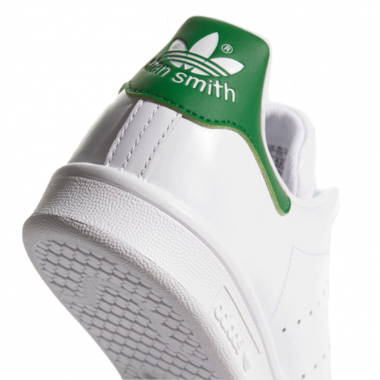 Baskets Adidas Originals Stan Smith Mixte Blanc derrière