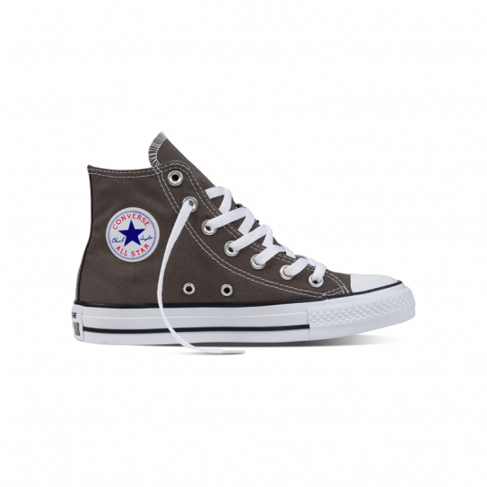 Chaussures Hommes Femmes Converse Gris All Star Montante