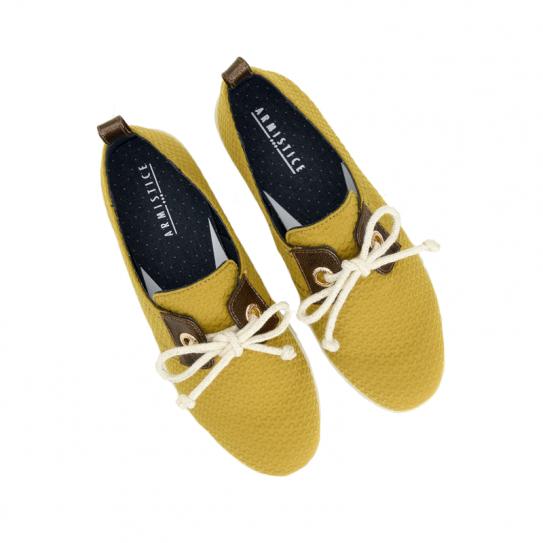 Femme Jaune One Toile Miel Soon Chaussures Armistice Stone SwBH88x6