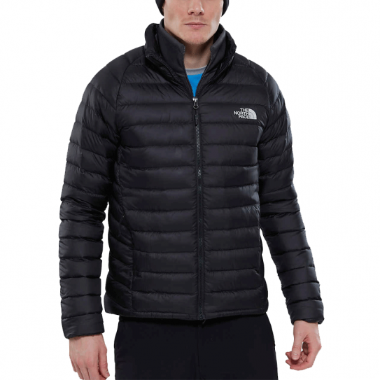 7c0381babd Doudoune Homme Manches Longues The North Face TNF Trevail Jacket Black