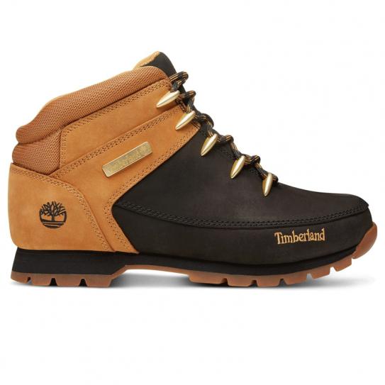 b479272531 Chaussures Homme Timberland Montantes Euro Sprint Camel Noir A1K7T