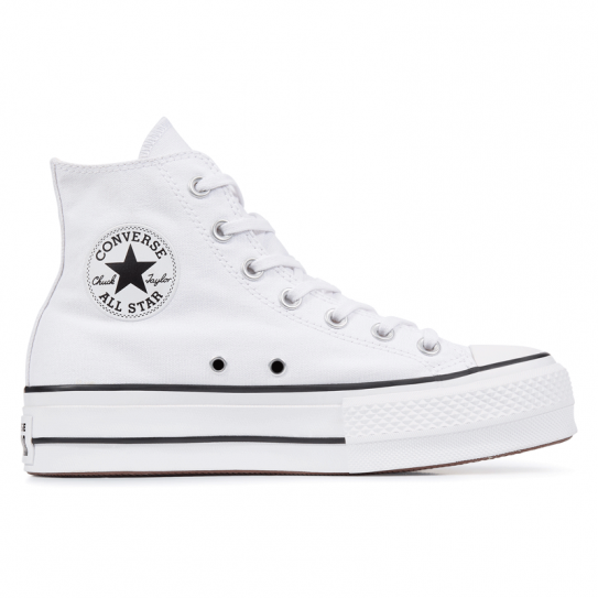 converse blanche femme toile
