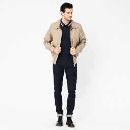 BLOUSON BASIC HARRINGTON BEIGE