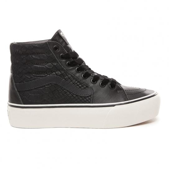 Montantes 0 Snake Sk8 Platform Noir 2 Black Hi Vans Chaussures qPwxOtYvq