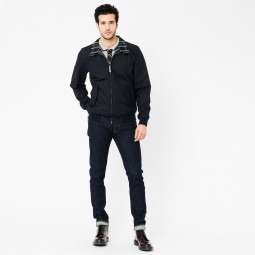 BLOUSON BASIC HARRINGTON MARINE