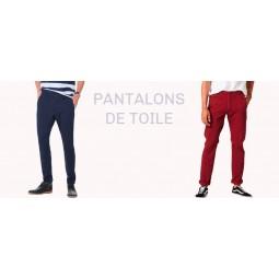 Pantalons de toile