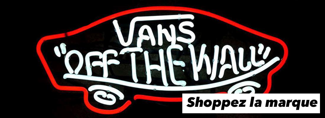 Découvrez notre collection de Vans